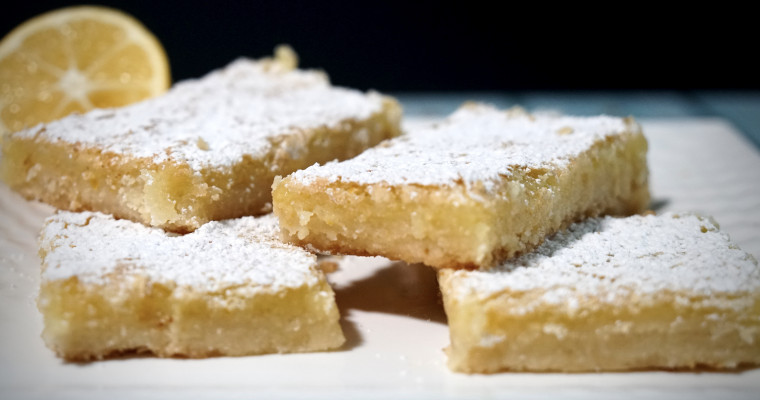 Ultimate Lemon Squares